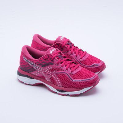 asics gel feminino rosa