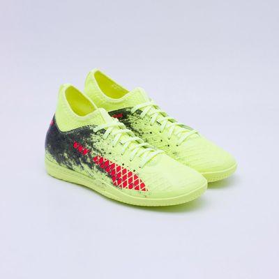 356e183d2f2 Chuteira Futsal Puma Future 18.3 IT Amarelo Neon - Gaston - Paqueta ...