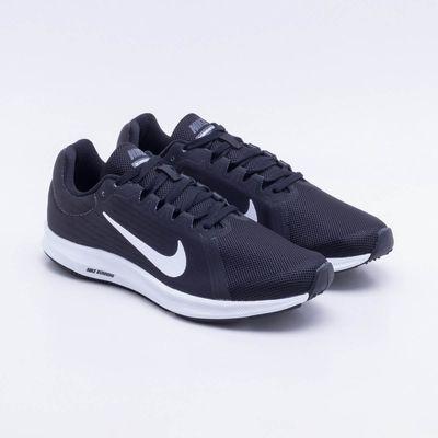 4b9fa524262 Tênis Nike Downshifter 8 Feminino Preto e Branco - Gaston - Paqueta ...