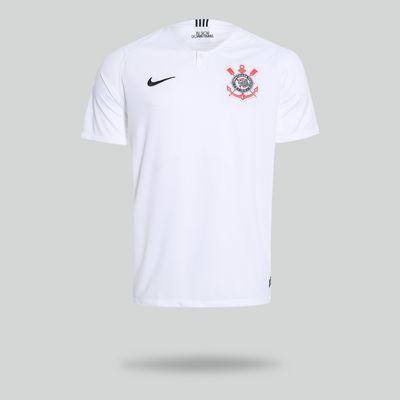 36c4e5c898ff7 Camisa Nike Corinthians 2018 2019 I Torcedor Branca Masculina Branco ...