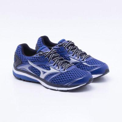 78ea11b74f Tênis Mizuno Iron 2 N Masculino Azul e Prata - Gaston - Paqueta Esportes
