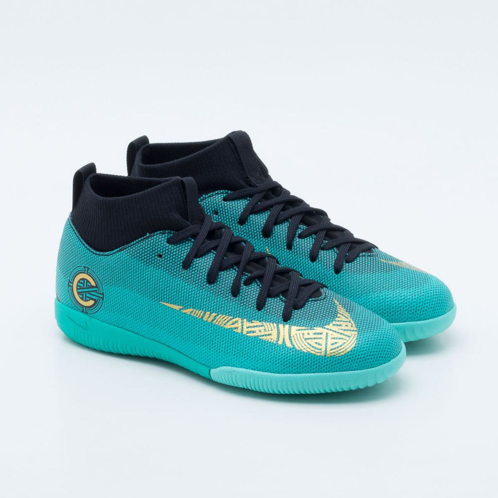 e801ea0a23 ... sale usa online 264c2 b4ac6 Chuteira Futsal Nike JR MercurialX Superfly  6 Academy CR7 Infantil ...