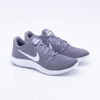 729f68f44 Tênis Nike Flex Contact 2 Masculino Cinza e Branco - Gaston ...