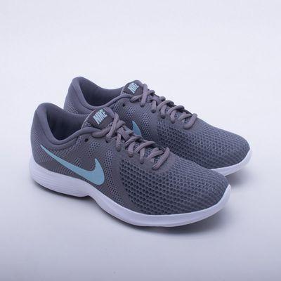 new concept 3150e e00af Tênis Nike Revolution 4 Feminino Cinza - Gaston - Paqueta Esportes