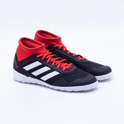 d34d56cfc10d8 Chuteira Futsal Adidas Predator Tango 18.3 IC Preto e Vermelho ...