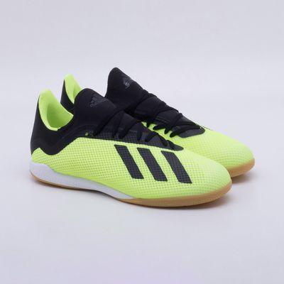 9641c34e8bbeb Chuteira Futsal Adidas X Tango 18.3 IC Amarelo Neon - Gaston ...