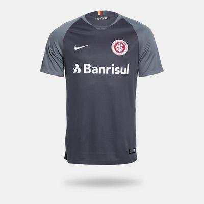 ed81d5daeaf5b Camisa Nike Internacional 2018 2019 III Torcedor Cinza Masculina G