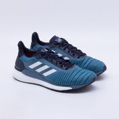 6738e87cd45 Tênis Adidas Solar Glide Masculino Azul - Gaston - Paqueta Esportes
