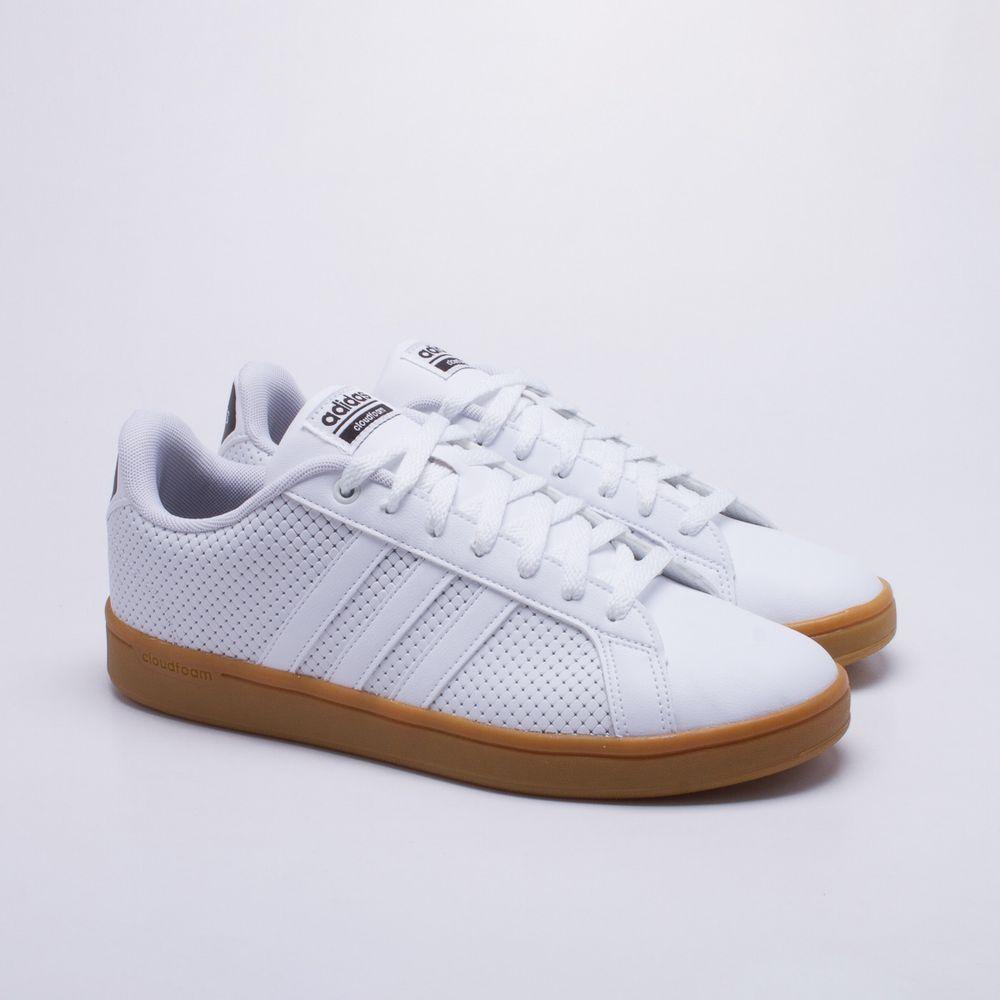 768c0d700a Tênis Adidas CF Advantage Branco Masculino