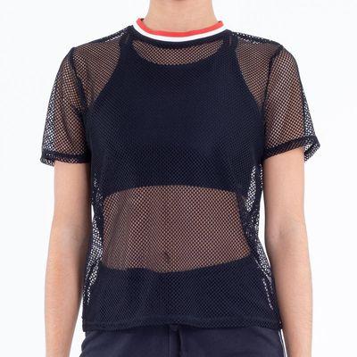 1cf5a4be05541 Camiseta Nike Sportswear Crew Just Do It Cinza Feminina Cinza ...