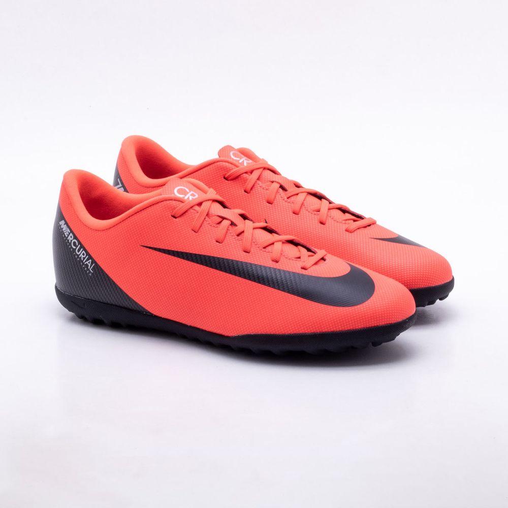 15f1ea0454cb9 Chuteira Society Nike MercurialX CR7 Vapor 12 Club TF