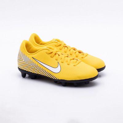 811d19dec5 Chuteira Campo Nike JR Mercurial Vapor 12 Club Neymar FG Infantil ...