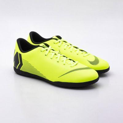 876bcf0913 Chuteira Futsal Nike MercurialX Vapor 12 Club IC Amarelo - Gaston ...