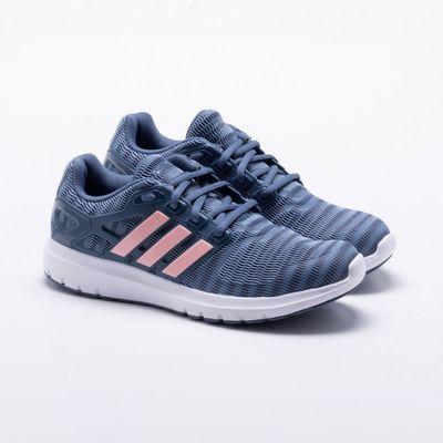 53829ec234e Tênis Adidas Energy Cloud V Feminino Azul - Gaston - Paqueta Esportes