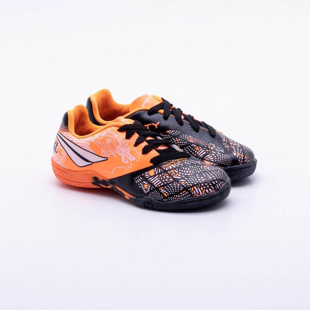 Chuteira Futsal Penalty K Soccer Victoria Dragon Infantil aa4071a3456cb