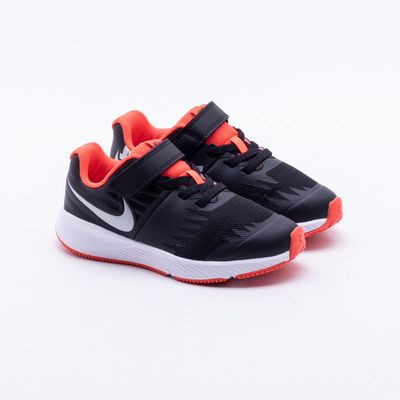 b55d3b4880d Tênis Nike Infantil Runner JDI Infantil Preto Preto - Gaston ...
