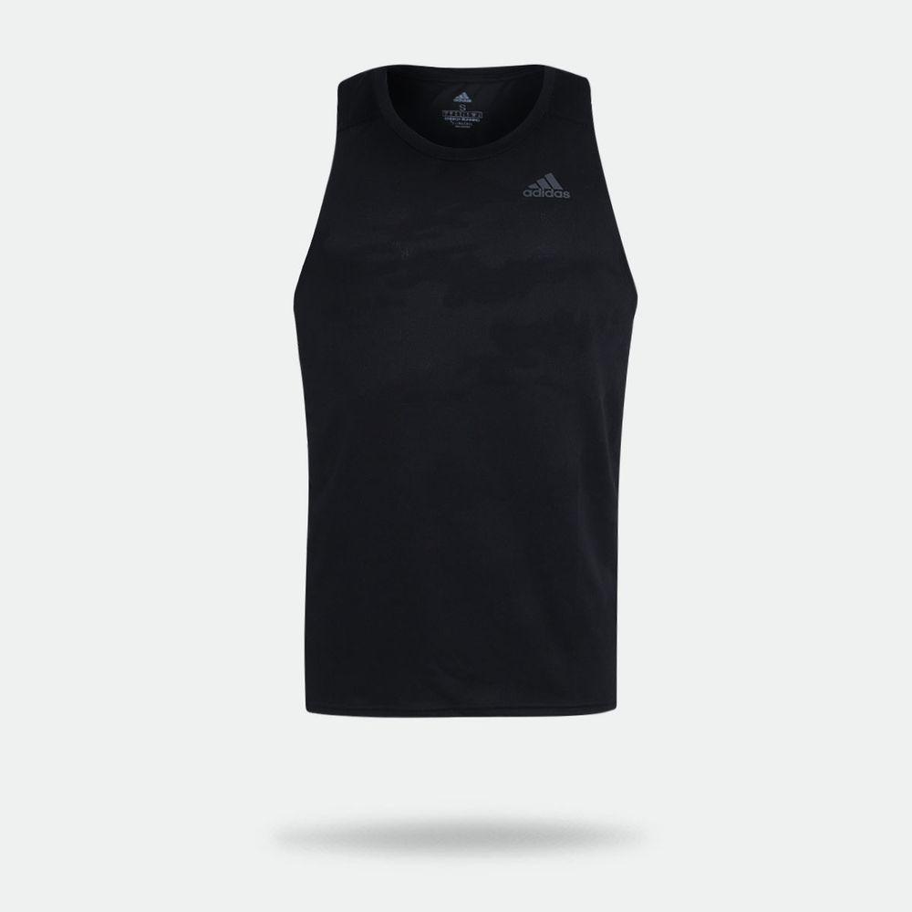 1538dcff2a Camiseta Regata Adidas Response Preta Masculina