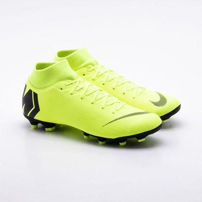 Chuteira Campo Nike Mercurial Superfly VI Academy FG Amarelo ... 5ebffeb7d3e00