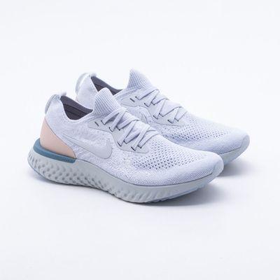 c2fea37a41ca Tênis Nike Epic React Flyknit Feminino Azul - Gaston - Paqueta Esportes