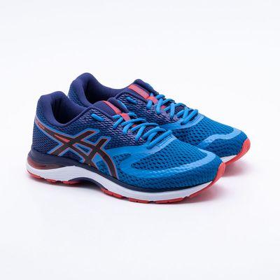aebdf36137 Tênis Asics Gel Pulse 10A Masculino Azul - Gaston - Paqueta Esportes
