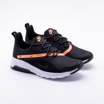 0a5ba872c Tênis Nike Air Max Motion 2 Preto Feminino Preto e Laranja - Gaston ...