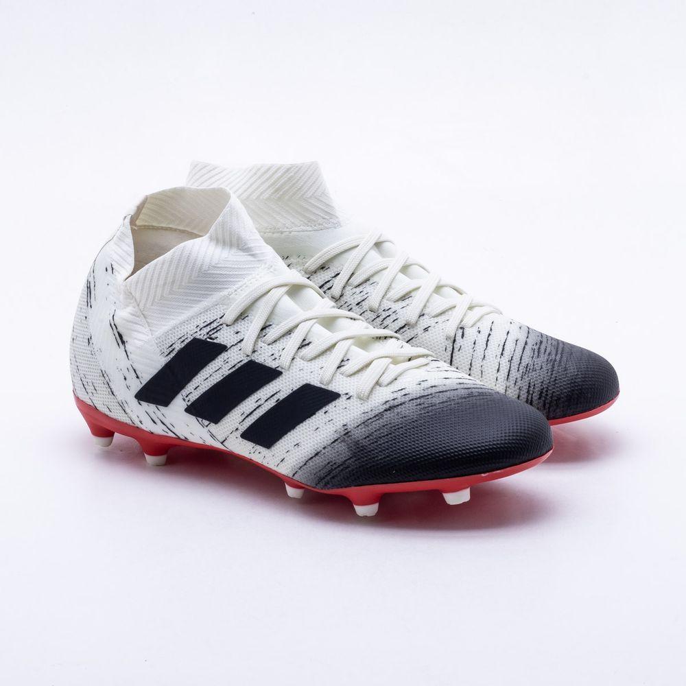 Chuteira Campo Adidas Nemeziz 18 3 FG 64ee3a3ccce87