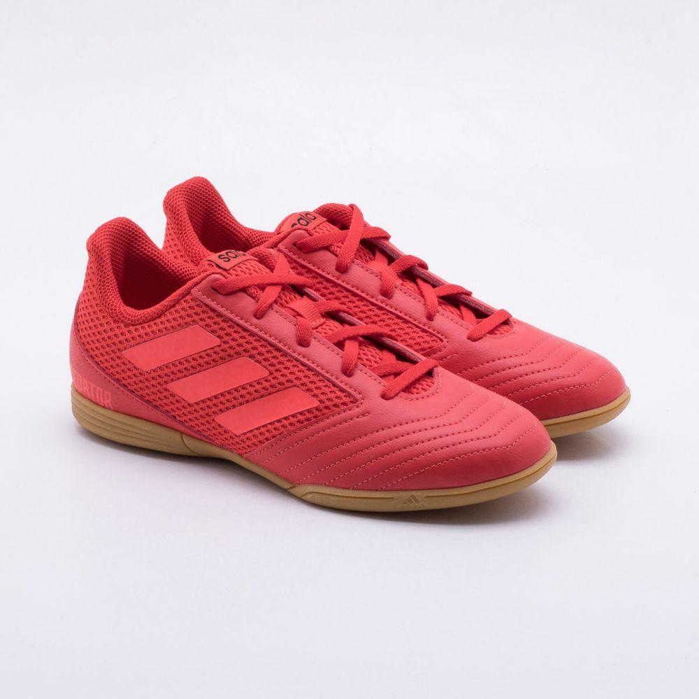 Chuteira Futsal Adidas Predator 19.4 IN Infantil 1d30bf7409306