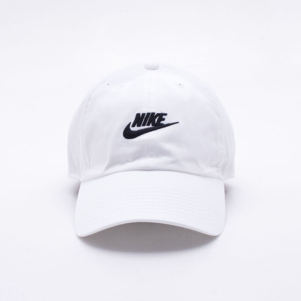 Boné Nike NSW H86 Futura Washed Branco - Único 928bdd97e07