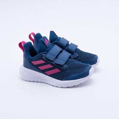 ba6110c5c64 Tênis Adidas Infantil Altarun CF K Azul Azul - Gaston - Paqueta Esportes