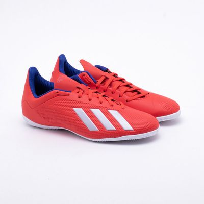 1b83d25f83c Chuteira Futsal Adidas X Tango 18.4 IN Vermelho - Gaston - Paqueta ...