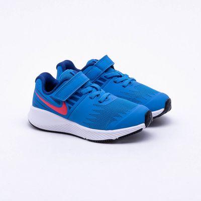 f2a96e3ab3c Tênis Nike Infantil Star Runner Azul Azul - Gaston - Paqueta Esportes