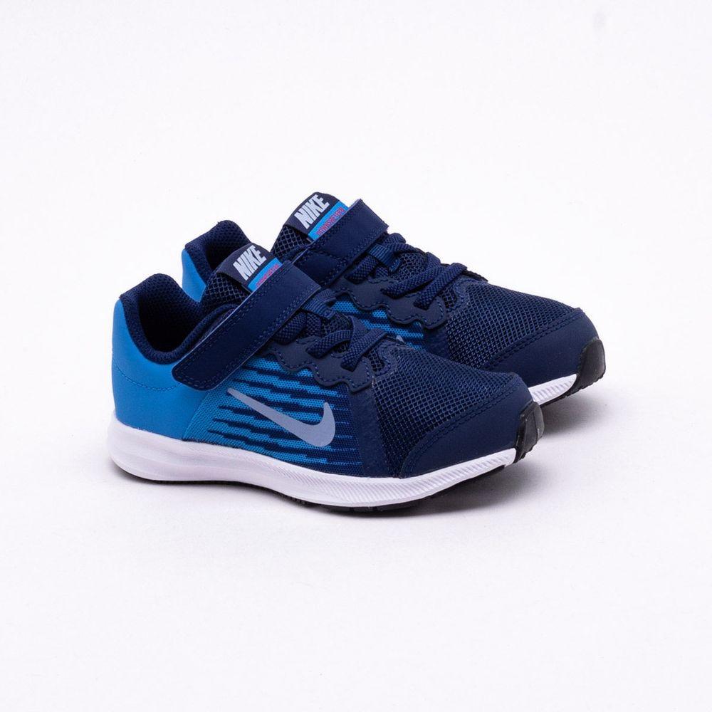 7b28209e07 Tênis Nike Infantil Downshifter 8 Azul
