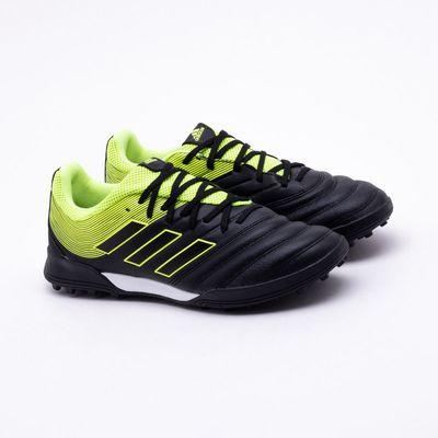 1508507047 Chuteira Society Adidas Copa 19.3 TF Preto e Verde - Gaston ...