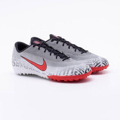 4b9e762f6e Chuteira Society Nike Mercurial Vapor 12 Academy Neymar Preto e ...
