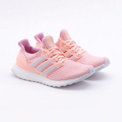 7d1a2911fcb Tênis Adidas Ultraboost Coral Feminino Coral - Gaston - Paqueta Esportes
