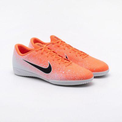 1b55061cf5 Chuteira Futsal Nike Mercurial Vapor 12 Academy IC Branca Branco ...